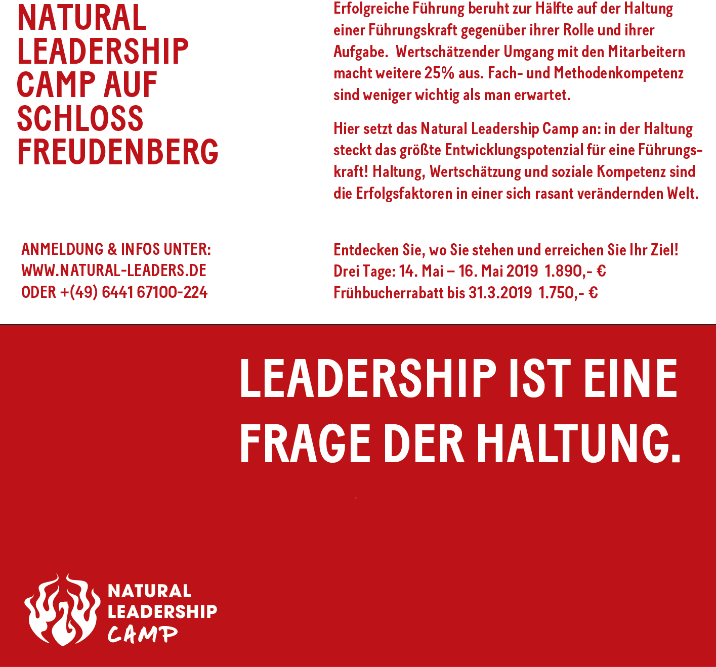 natural-leadership-camp ute Tiegs und Wolf Lüdge